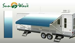 16 Ft RV Awning Replacement Camper Trailer Vinyl Fabric ...