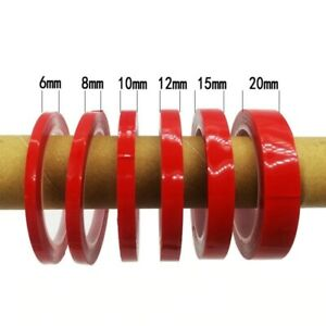 3Meter DoubleSided Permanent Strong Adhesive Super Sticky Clear Tape Waterproof