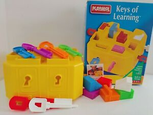 PLAYSKOOL Ages 2-6 Learning Toy/Keys of Learning Match ...