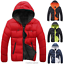 Fashion-Men-Boy-Winter-Warm-Hooded-Thick-Padded-Jacket-Zipper-Slim-Outwear-Coat miniatura 6