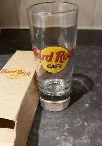 Vintage-collectable-Hard-Rock-Cafe-Shot-Glass-ORLANDO-Boxed