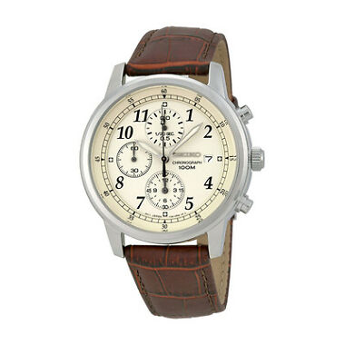 Seiko SNDC31 Chronograph Mens Watch
