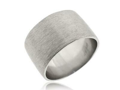 925 Sterling Silver Big Band Tube Rings Women And Girls