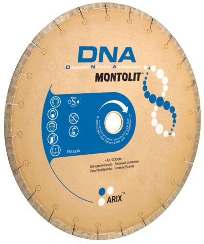 DIAMANTSCHEIBE FÜR FEINSTEINZEUG KERAMIKFLIESEN GRANIT MONTOLIT DNA SCX