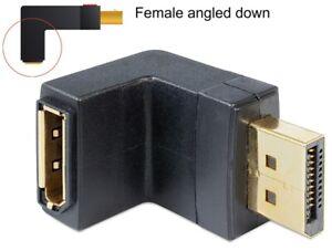 Delock-Adaptador-Pantalla-LCD-1-1-Macho-A-Pantalla-LCD-Hembra-en-Angulo-Verso-I
