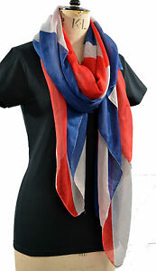 Union Jack Flag United Kingdom Scarf Shawl Wrap Sarong Hijab Girlfriend Gift Buy One Give One Schals & Tücher Kleidung & Accessoires