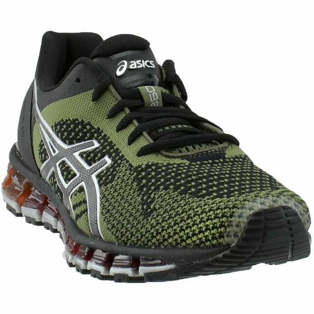buy online 48fbf ed191 ASICS Gel-Quantum 360 Knit Athletic Running Neutral Shoes - Black - Mens