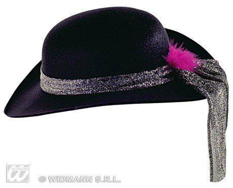 widmann 2516b cappello lucy dama feltro nero @