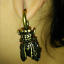 Antique-Gold-Cicada-Shape-Ear-Weights-Gauges-Piercing-Tunnel-Plug-Body-Jewelry thumbnail 11