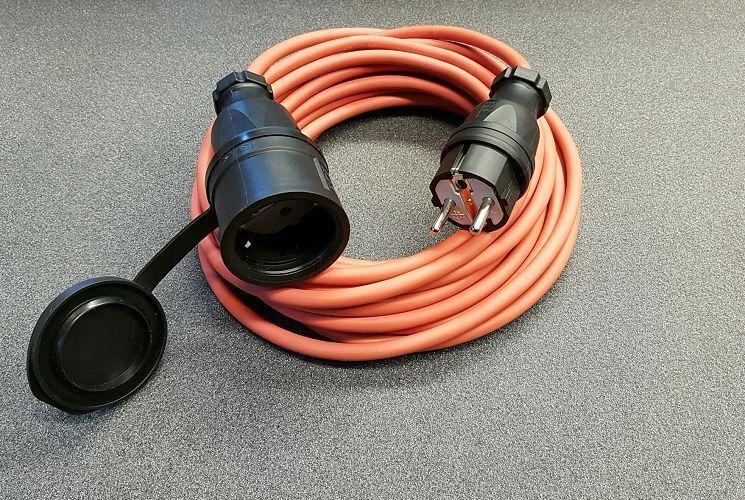 Verlängerungskabel Stromkabel SIHF Silikon  WärmeBesteändig 3x1,5  30m IP44 | Primäre Qualität