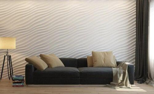 3D Panels Molds for Gypsym and Concrete Wall Panels 500x500 mm Dune