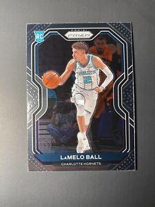 2020-21 LaMELO BALL Rookie Panini Prizm #278 Charlotte Hornets Base RC 🔥