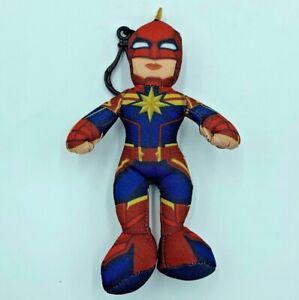 Marvel-Captain-Marvel-Plush-GoodStuff-Backpack-Book-Bag-Clip-On