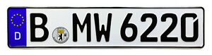 BMW-European-German-License-Plate