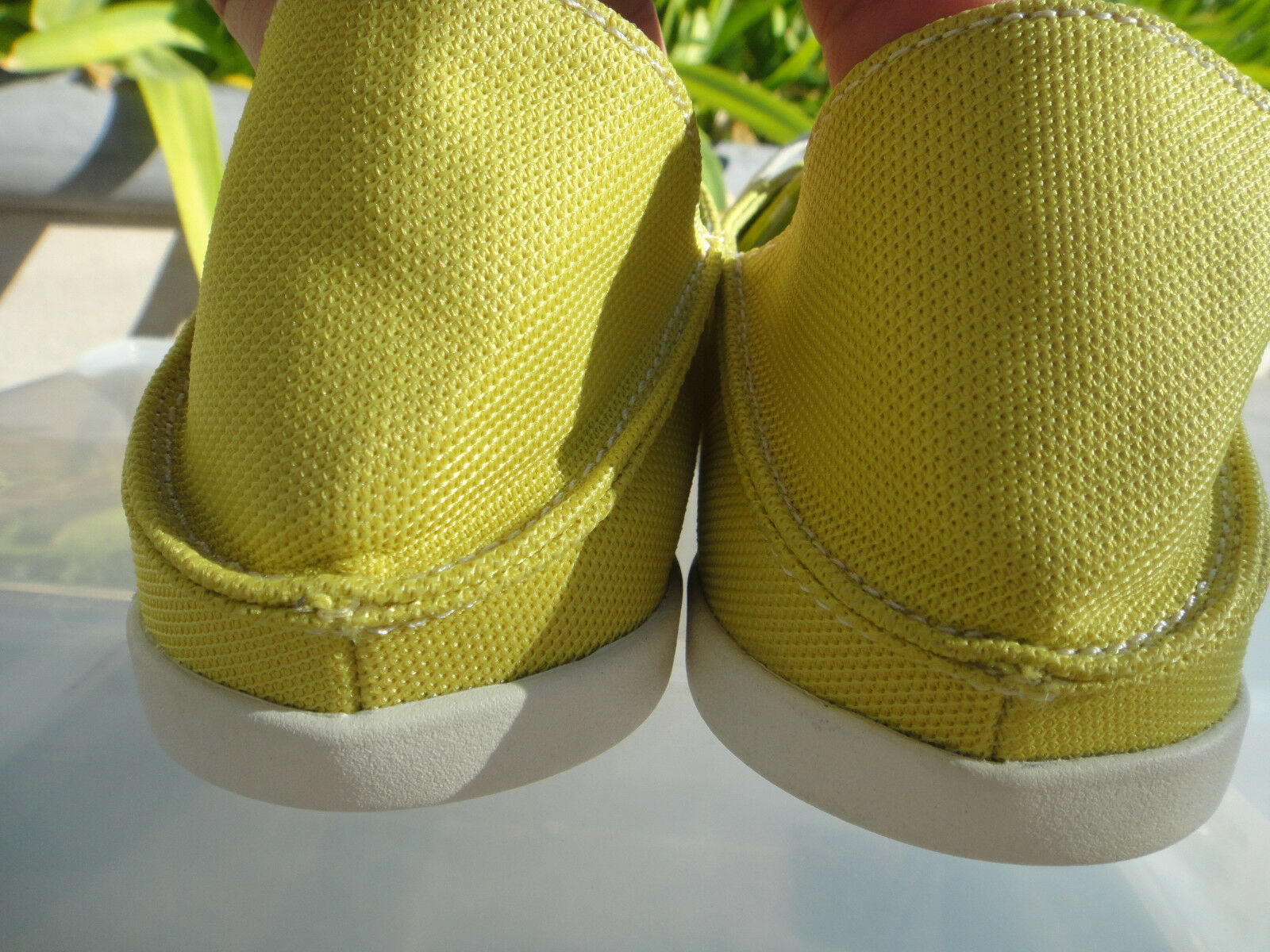 OluKai HELEUMA Mesh Citron Lace Up chaussures, Drop in in in Heel,  femmes US Taille 7 c318ac