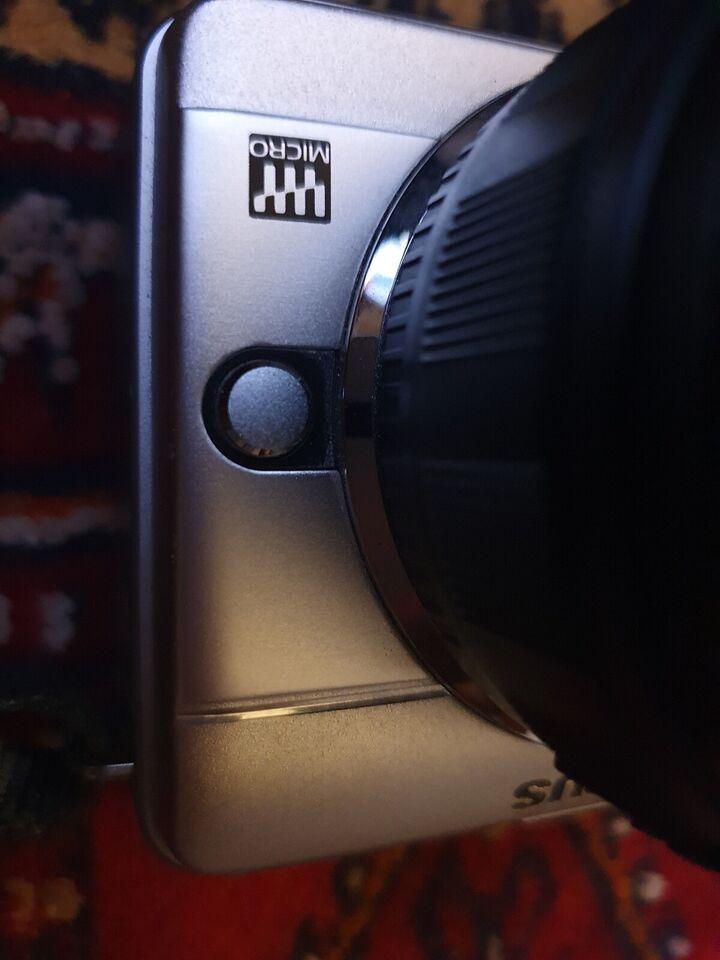 Olympus, spejlrefleks, Sensor Resolution 12.3 Megapixel