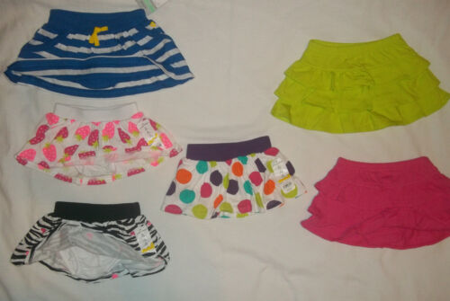 NEW JUMPING BEANS//CARTERS  BABY GIRLS SIZE 3 6 9 12 18 24 MONTHS SCOOTER SKIRT