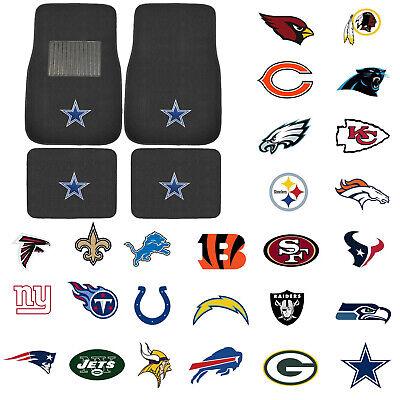 New Pick Your Teams NFL Teams Car Truck Front Rear Carpet Floor Mats
