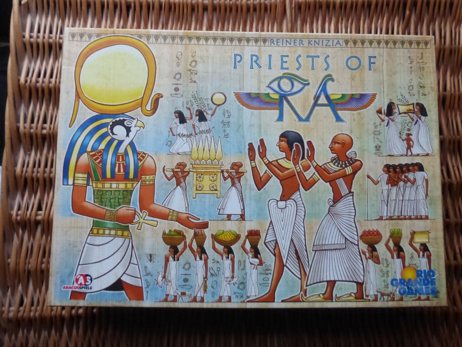 Priests of RA UNPUNCHED by Rio Grande Games