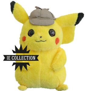 Pokémon: Detective Pikachu Peluche Pupazzo 25 Cm Raichu Pichu Ash Plush Film New