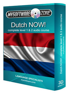 LEARN-SPEAK-DUTCH-NOW-COMPLETE-LEVEL-1-amp-2-AUDIO-LANGUAGE-COURSE-MP3-CD-GIFT