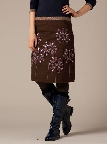 BODEN Flowerburst Applique Skirt UK Size 6 8 10 12 14 16 Exquisite BRAND NEW