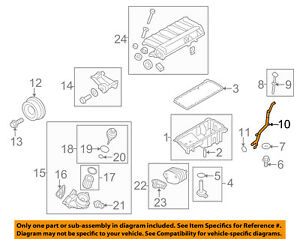 details about bmw oem 09 13 x5 3 0l l6 engine oil level dipstick tube 11437800688 V4 Engine Diagram