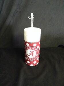 University of Alabama Polka-Dot 32oz Sports Bottle with Circle Logo