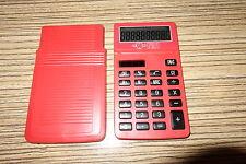 Texas Instruments . Taschenrechner. Alt . Würth No1 Werbedruck  . Solar Dual