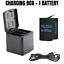 thumbnail 14 - TELESIN Battery Charger Case For GoPro Hero 8 7 6 5 Black Charging& Storage Box