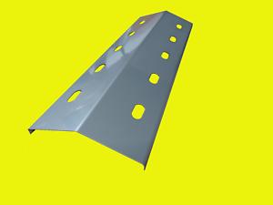 4x-Gasgrill-Brennerabdeckung-Edelstahl-41-x-14cm-Flammenverteiler-Flammenblech
