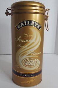 BAILEYS - The Original  Metal Collectible Bottle Canister Tin Ireland, 2002, GUC