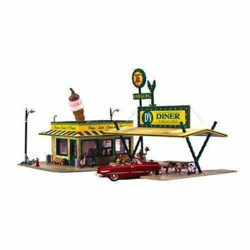 Woodland Scenics Pre Fab D s Diner N PF5208