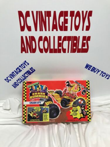 Figurine d'action 1991 vintage Tyco Incroyable Crash Dummies Atv