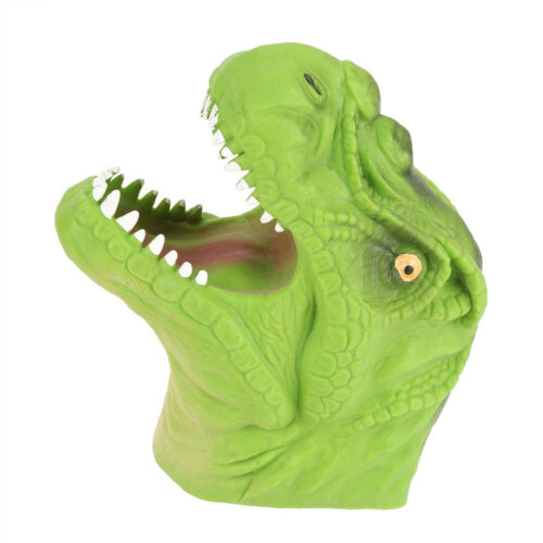 Hand Puppets Tyrannosaurus Rex Head Stretchy Dinosaur Puppet Toy For Kids Gifts