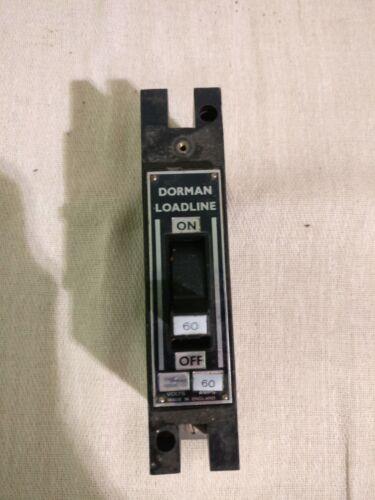Dorman Smith LoadLine 60 Amp 60A MCCB