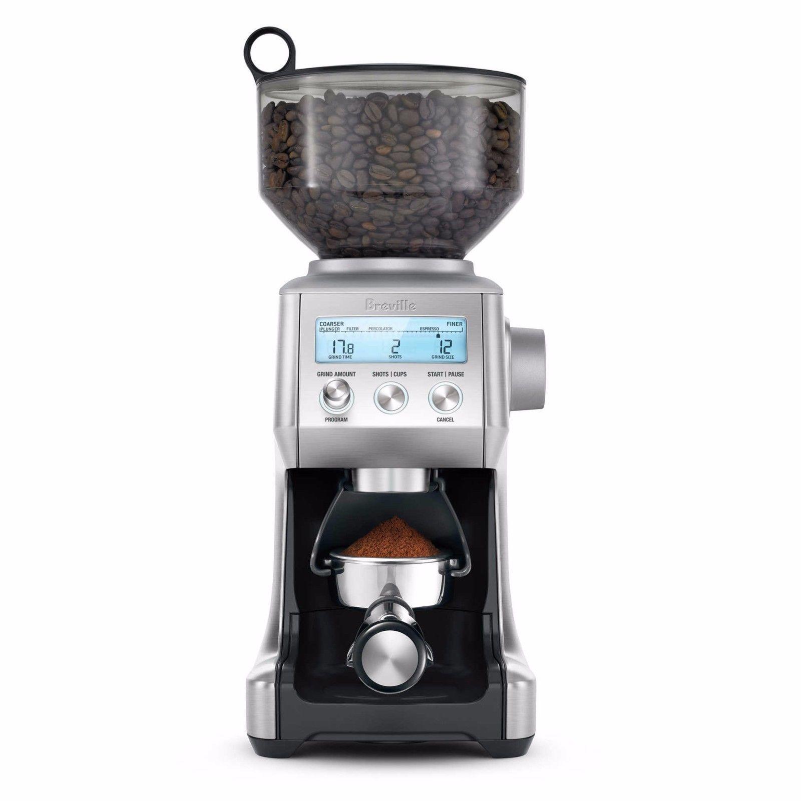 Breville BCG820BSSXL Smart Grinder Pro Coffee Bean Grinder Stainles Steel BCG820