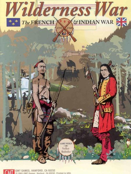 Wilderness War (édition 2015) Troisième impression Nouveau Psy Enveloppé GMT0104-15