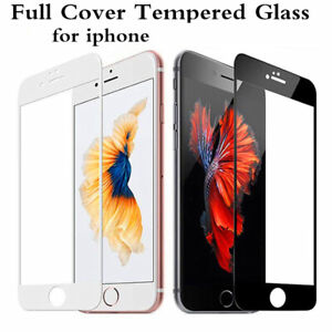 For-iPhone-7-8-6-6s-Plus-9H-Full-Coverage-Tempered-Glass-Screen-Protector-Film