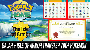 Pokemon Sword and Shield Full Galar Pokedex & The Isle of Armor ULTRA SHINY BR!!