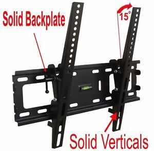 SLIM-LCD-LED-PLASMA-FLAT-TILT-TV-WALL-MOUNT-BRACKET-24-30-32-37-42-46-47-50-55