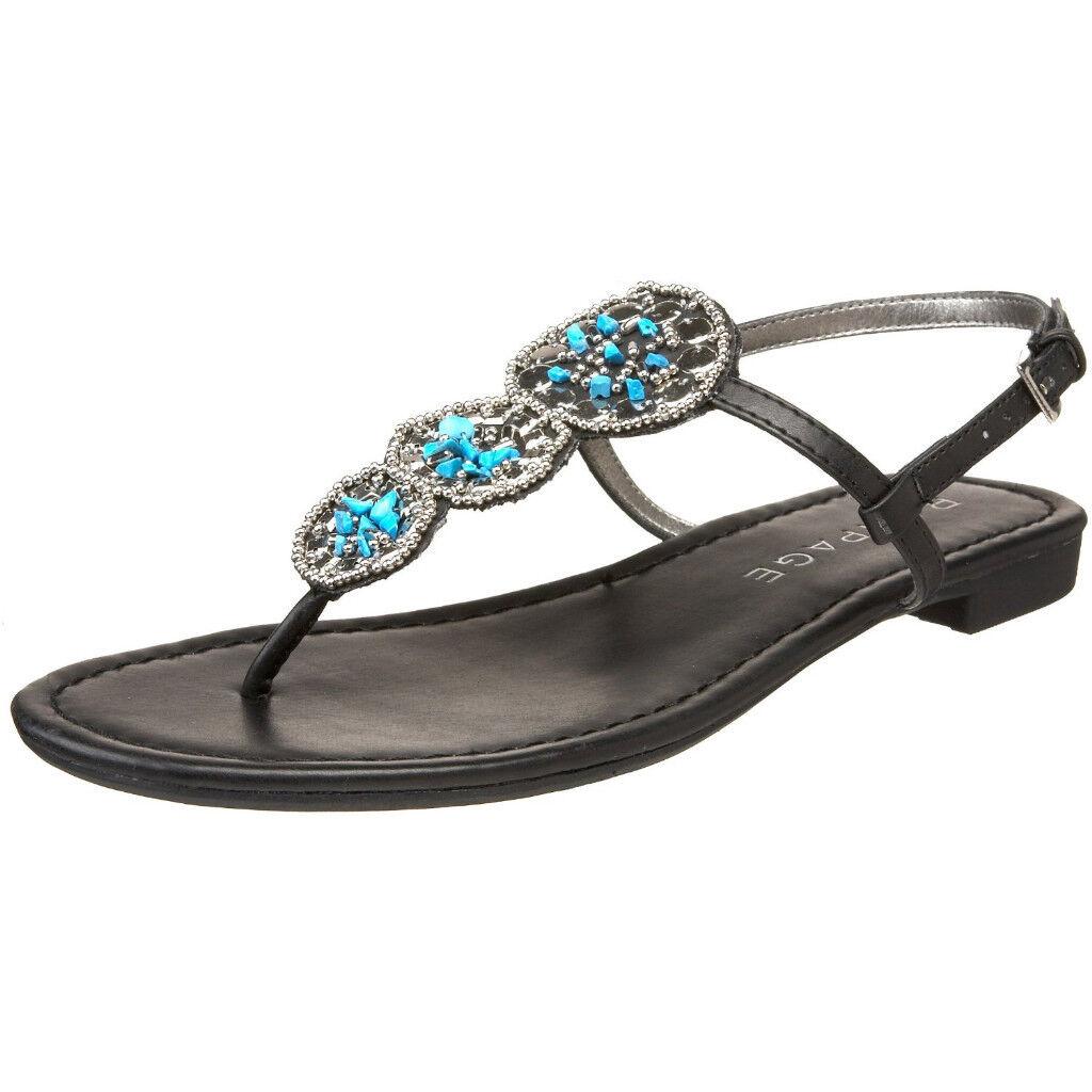 *NIB Rampage Kamelot Burnish Brown Burnish Kamelot Sandals Sz10-Cute!! 3f1191