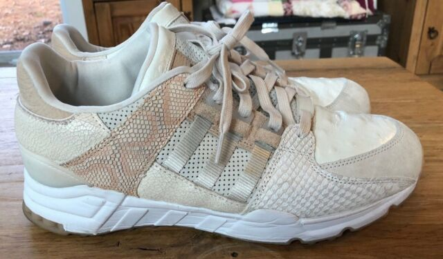 check out bd6cc dbe5f Adidas EQT Running Support Oddity 93 Luxe F37617 Brown Snake Reptile Beige  US10