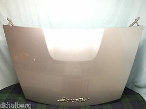 Porsche-Boxster-987-2-9L-Rear-Trunk-Lid-Arctic-Silver