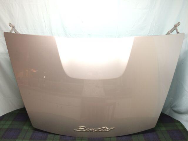 Porsche Boxster 987 2.9L OEM Rear Trunk Lid  (Arctic Silver)