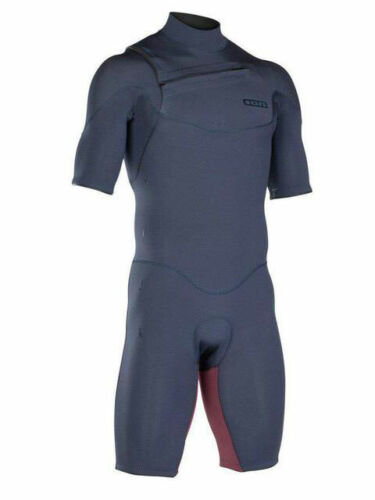 2019 Ion Onyx core shorty 2x2MM Mens Wetsuit blue//red