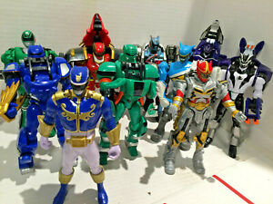"""Mixed Lot of 10 21st Century Mighty Morphin Power Rangers 6"""" Action Figures"""