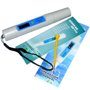 New Digital Salinity Meter Tester For Salt Pool Fish Pond