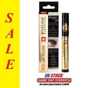 1d23f43a655 Image is loading EVELINE-SOS-LASH-BOOSTER-MULTIPURPOSE-EYELASH-SERUM-WITH-