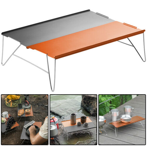 Aluminium Portable Folding Table Camping Kitchen Outdoor Picnic Dining BBQ Table